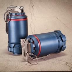 20201004191758_IMG_0293.jpg Télécharger fichier STL Grenades HMX • Design imprimable en 3D, The3Dprinting