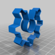 Download free 3D printer files Open Source Hardware cookie cutter, Nosekdesign