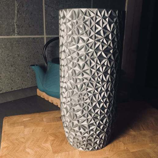 Download free STL file Polygon Vase • 3D print object, Nosekdesign