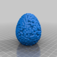 Download free STL files Easter egg (vol 2.), Nosekdesign