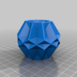 Download free 3D printer model Dodecadecor ornaments, Nosekdesign