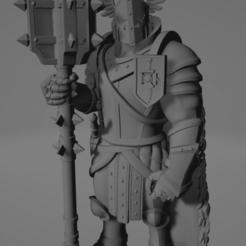 Screenshot_1.png Download free STL file Paladin knight with Maul • 3D printer model, kalinSLO