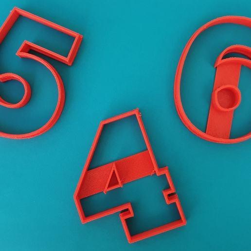 83659567_2711285222451948_3268707676023154020_o.jpg Télécharger fichier STL gratuit Lot de 10 moules à biscuits numérotés • Design à imprimer en 3D, icepro10