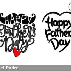 Download free STL file FATHERS DAY COOKIE CUTTERS • Object to 3D print, icepro10