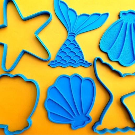 thumbnail_20200601_143046.jpg Télécharger fichier STL gratuit Coupe-biscuits de sirène • Design pour impression 3D, icepro10