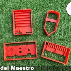 maestro2.jpg Download free STL file Set de Cortadores de Galleta del Dia del Maestro Cortador  • 3D print object, icepro10
