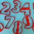 104344830_2711285335785270_2772162717526058537_o.jpg Télécharger fichier STL gratuit Lot de 10 moules à biscuits numérotés • Design à imprimer en 3D, icepro10