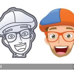 Download free STL file Blippi Cookie Cutter • 3D print design, icepro10