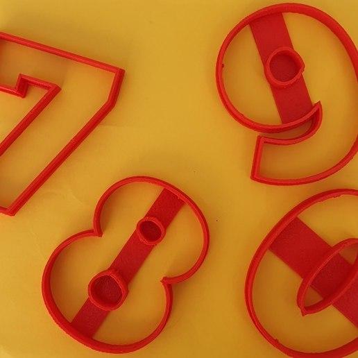 104232963_2711285252451945_6718989995433556510_o.jpg Télécharger fichier STL gratuit Lot de 10 moules à biscuits numérotés • Design à imprimer en 3D, icepro10