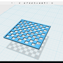 Download 3D printer files plant mesh 5x5 cm, gassm1913