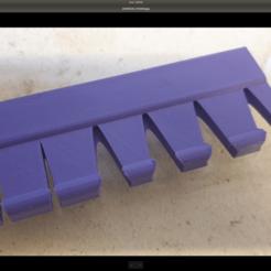 Télécharger fichier impression 3D gratuit Toothbrush holder flat / Porte brosse à dents, benoitcourty