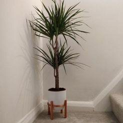 Télécharger fichier imprimante 3D Support de pot de plantes moderne - élégant, contemporain, MrCrashy31
