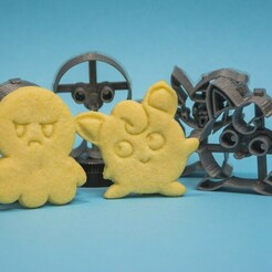 rom3i.jpg Download STL file Pokemon and Octoplush cookie cutters! • 3D print template, Eddito20
