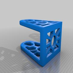 stojak_baza.png Télécharger fichier STL gratuit Grand porte-bobine pour rouleau de filament de 2 kg 100x300 • Design à imprimer en 3D, jakub4