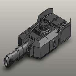 Screenshot_12.jpg Télécharger fichier STL gratuit Tourelle de char Leo Russ MBT41 • Plan pour impression 3D, jakub4