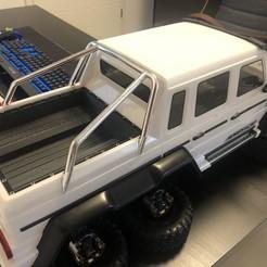 Download 3D printer files Traxxas Trx-6 trx6 Bed Ladefläche cargo-load area Mercedes Benz 6x6 AMG, kilic_turan