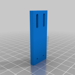 Download free 3D printer templates Y-axis and trunk limit switch support x5, maxine95