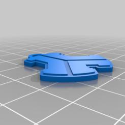 Untitledllavero_defcon1_v5.png Download free STL file Llavero Defcon 1 • Design to 3D print, maxine95