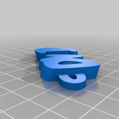 fbdaeb19b20dba0d1cf4ddfba3296f4b.png Télécharger fichier STL gratuit Llavero David • Objet pour imprimante 3D, maxine95