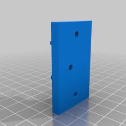 Download free 3D printing templates Wardrobe Bar Support, maxine95