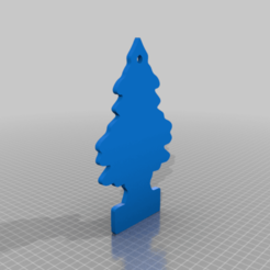 ambientador_pino.png Download free STL file pine tree air freshener • Template to 3D print, maxine95