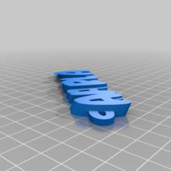 Descargar diseños 3D gratis Mi iamburny's v2 personalizado Texto - Nombre Llavero / Llavero, maxine95