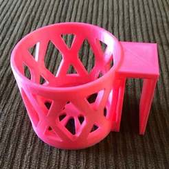 Download free 3D printer model Remix Bunk Bed Cup Holder, theworkingdadslife