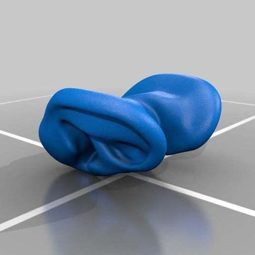 Ears.jpg Download free STL file Earphone Tyde • 3D printer object, AngryMaker3D