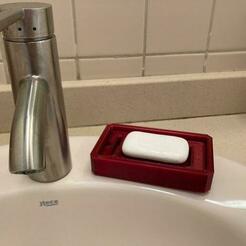 Foto 28-12-20 18 08 08.jpg Télécharger fichier STL gratuit easytopriont Porte-savon • Objet à imprimer en 3D, pb023