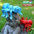 Angel01.jpg Download STL file Cute Flexi Print-in-Place Spider • 3D printer template, FlexiFactory