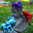 Angel03.jpg Download STL file Cute Flexi Print-in-Place Spider • 3D printer template, FlexiFactory
