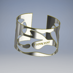 Descargar archivo 3D gratis brazalete001, azoooka
