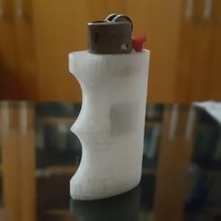 20200521_153326.jpg Télécharger fichier STL gratuit Casquette de briquet Bic - anatomique • Modèle à imprimer en 3D, Nesh