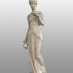 11.jpg Download free STL file Woman Statue • 3D printer object, Nesh