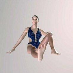 3d_model 1.jpg Télécharger fichier STL gratuit Femme en maillot de bain • Modèle imprimable en 3D, Nesh