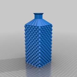 Download free 3D printing models Textured Bottles, gustavorezende