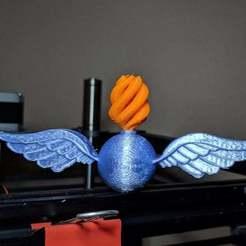 Imprimir en 3D gratis Símbolo de clasificación de la aviación (AO), gmdavestevens