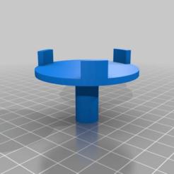 Download free STL file Sharp Microwave Turntable Motor Coupler • 3D printable model, gmdavestevens