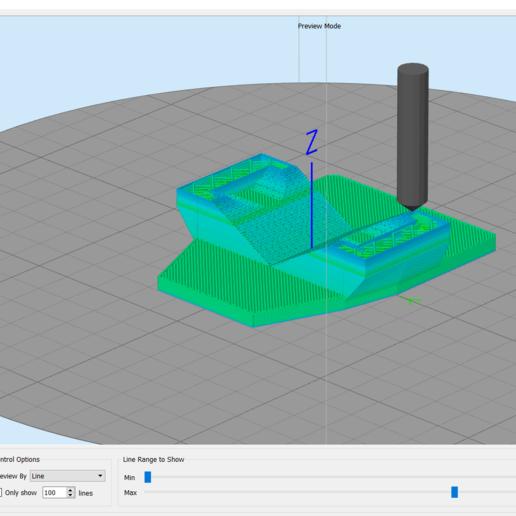 2020-04-18 (8).png Télécharger fichier 3DS gratuit Adaptateur de fixation pour téléphone / voiture Gopro • Modèle imprimable en 3D, Verl