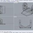 2020-04-18 (10).png Télécharger fichier 3DS gratuit Adaptateur de fixation pour téléphone / voiture Gopro • Modèle imprimable en 3D, Verl