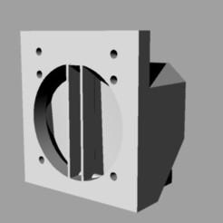 Dissipatore.jpg Télécharger fichier 3DS Refroidisseur à haute efficacité Esxtruder pour imprimante delta • Design imprimable en 3D, Verl