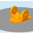 2020-04-18 (9).png Télécharger fichier 3DS gratuit Adaptateur de fixation pour téléphone / voiture Gopro • Modèle imprimable en 3D, Verl