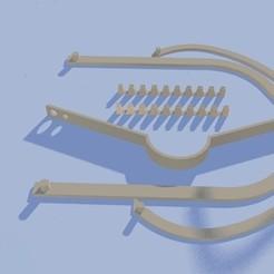 Télécharger objet 3D gratuit Modèle d'impression pour le cadre du masque buccal, derNeon