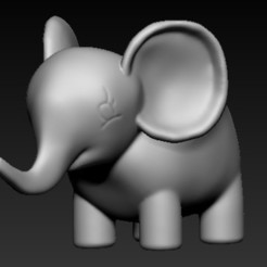 Download free STL file Elephant, anykbuss