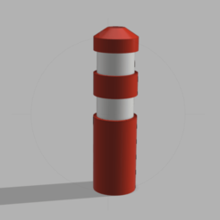Capture d'écran (75).png Download STL file Signal beacon 1/10 , 1/14 and 1/16 • Template to 3D print, LP650-4