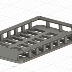 Capture d'écran (88).png Télécharger fichier STL Galerie de toit pour jeep wrangler kyosho mini z 4X4 • Modèle imprimable en 3D, LP650-4