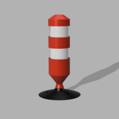 Capture d'écran (76).png Download STL file Signal beacon 1/10 , 1/14 and 1/16 • Template to 3D print, LP650-4