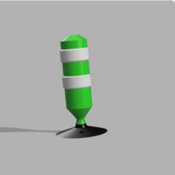 Capture d'écran (80).png Télécharger fichier STL Balise de signalisation 1/10 , 1/14 et 1/16 • Modèle pour impression 3D, LP650-4
