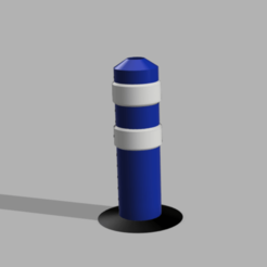 Capture d'écran (81).png Download STL file Signal beacon 1/10 , 1/14 and 1/16 • Template to 3D print, LP650-4