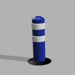 Capture d'écran (81).png Télécharger fichier STL Balise de signalisation 1/10 , 1/14 et 1/16 • Modèle pour impression 3D, LP650-4